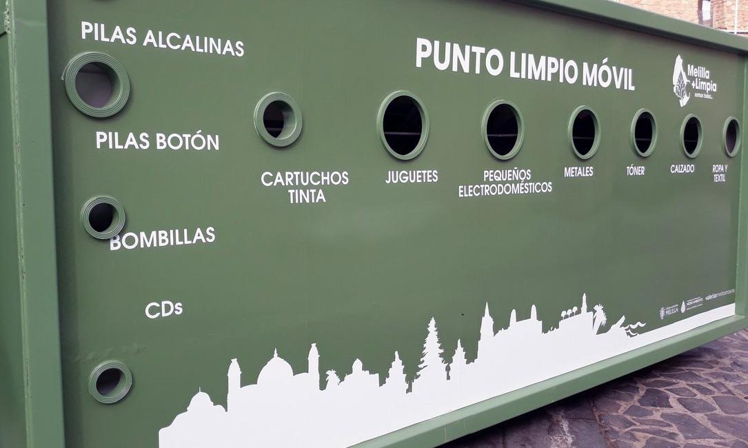 Melilla ya cuenta con Puntos Limpios Móviles