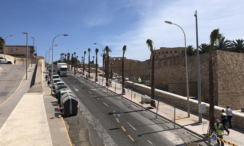 Esta tarde se abre el primer tramo de la Carretera de La Alcazaba
