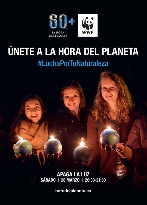 Melilla se sumará el próximo 28 de marzo a la Hora del Planeta 2020