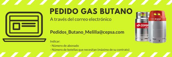 Atlas habilita un correo electrónico para agilizar el pedido de gas butano