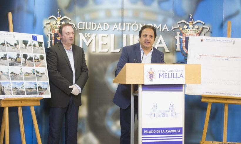 Aumenta el circuito del carril bici con la incorporación de 292 metros en Héroes de Alcántara