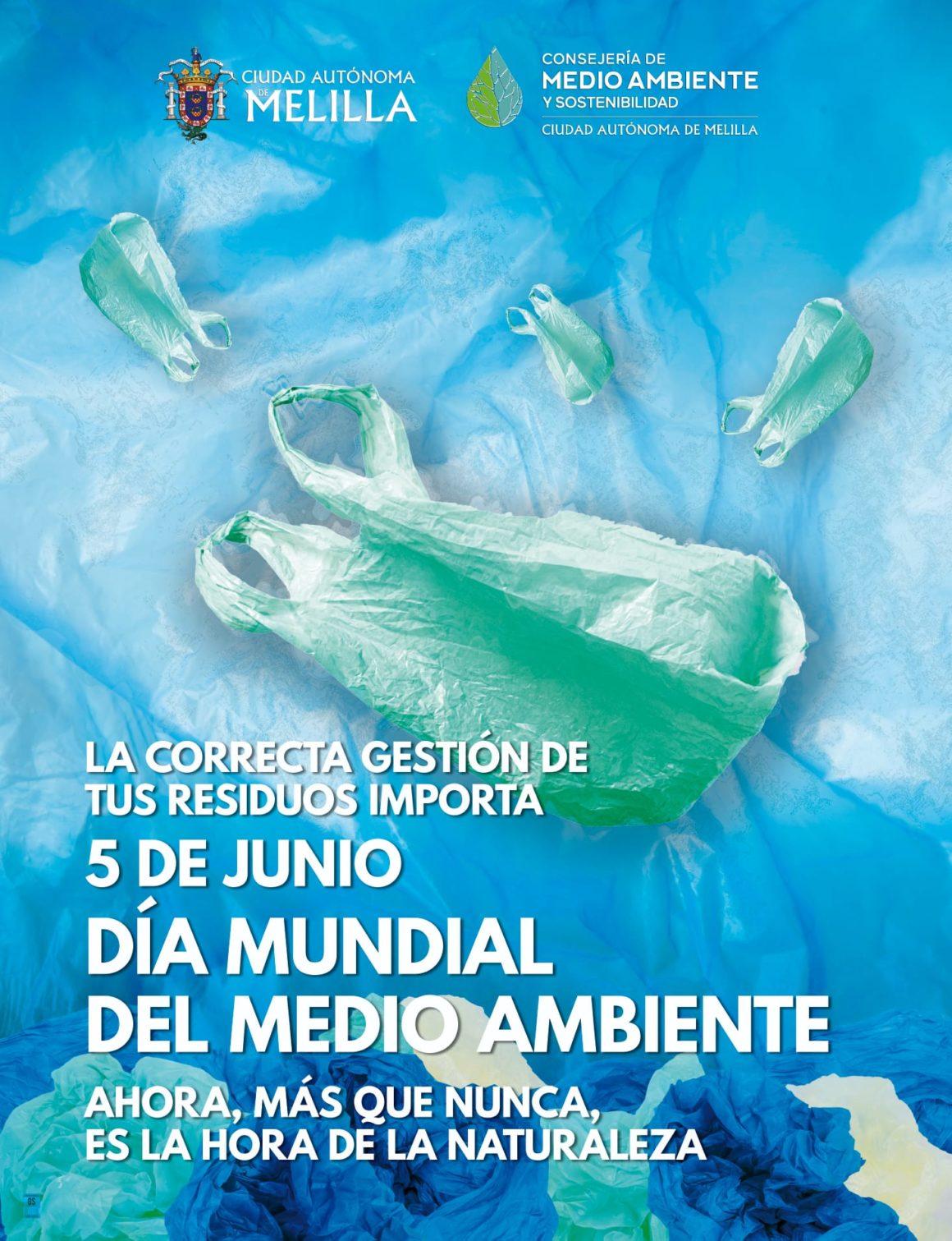 Melilla conmemora el Día Mundial del Medio Ambiente con la puesta en marcha de una aplicación de reciclaje o el apadrinamiento de árboles