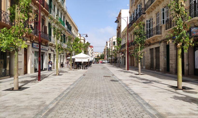 El peatón sigue ganando espacio con la renovación de las calles O'Donnell y General Prim