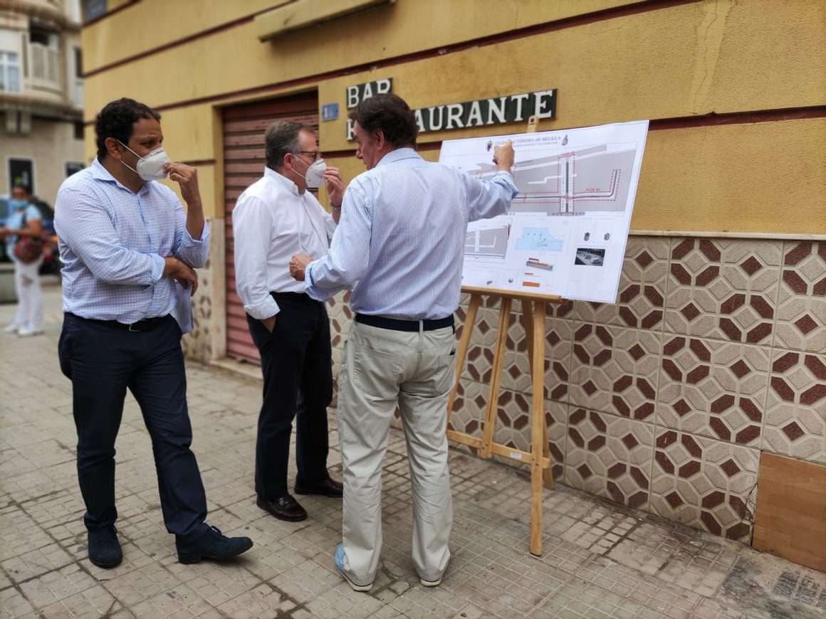 Comienzan las obras de ordenación de las calles Alfonso Gurrea, Pedro Navarro y Conde de Alcaudete
