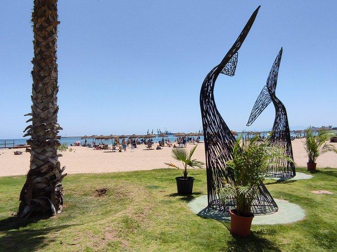 Las playas de Melilla con Bandera Azul cumplen con los criterios exigidos