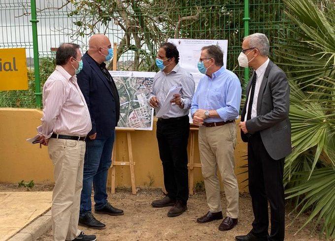 Medio Ambiente invierte 330.00 euros en la nueva red de saneamiento de Purísima