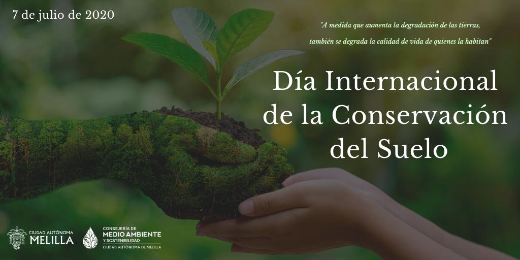 Hoy se celebra el Día Internacional de la Conservación del Suelo