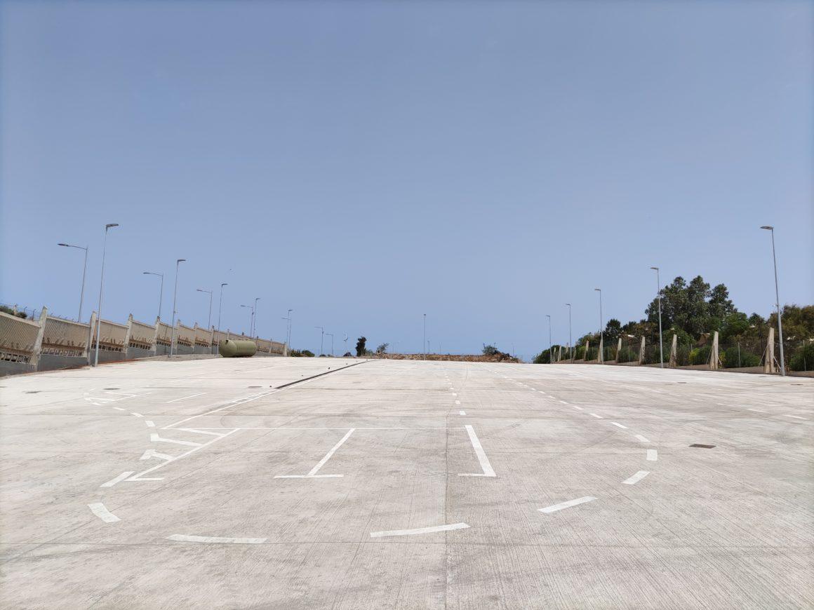 Culminan las obras del parque de maquinaria del Servicio Municipal de Limpieza