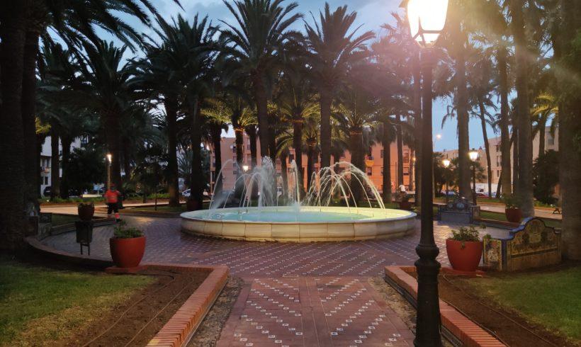 El Parque Agustín Jerez estrena iluminación LED de menor consumo y menos emisiones