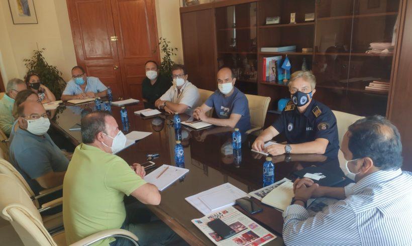 La Consejería de Medio Ambiente se reúne con el nuevo superintendente de la Policía Local