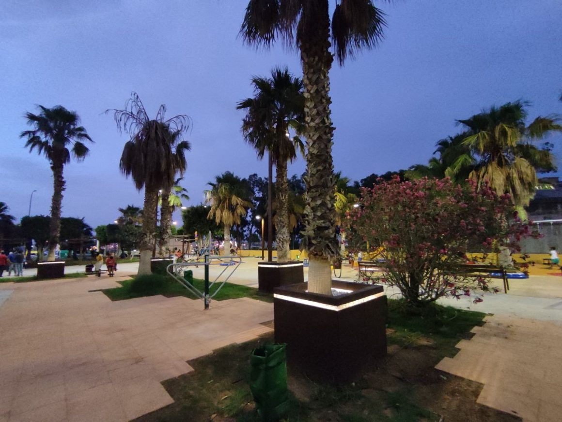 Un parque para todas las edades y con la mejor iluminación