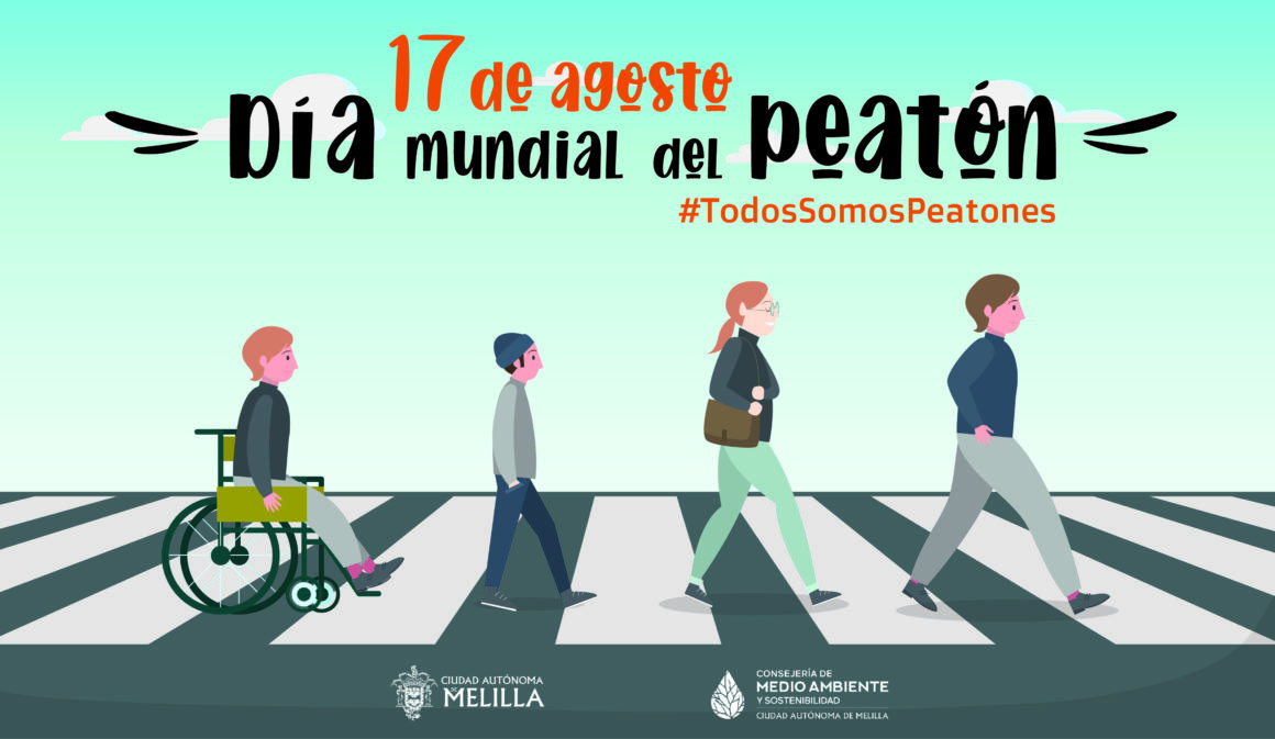 Hoy, 17 de agosto, se celebra el Día Mundial del Peatón