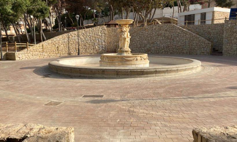 Medio Ambiente termina la remodelación del Parque Lobera