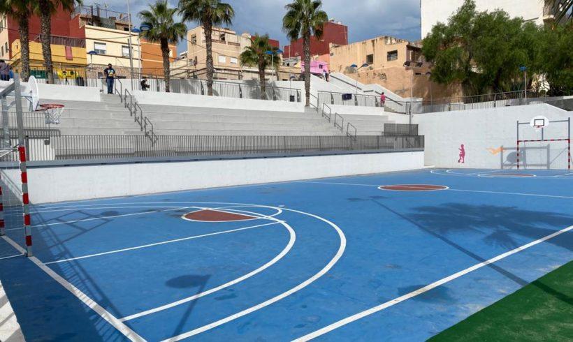 Nueva zona verde y de ocio para los vecinos de Cabrerizas y Tiro Nacional