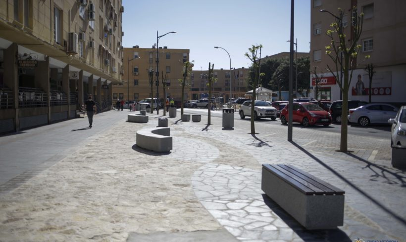 Finalizan las obras de adecuación entre la Plaza de la Goleta y Marqués de los Vélez