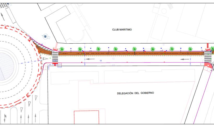 Medio Ambiente inicia la prolongación del carril bici hasta el Club Marítimo