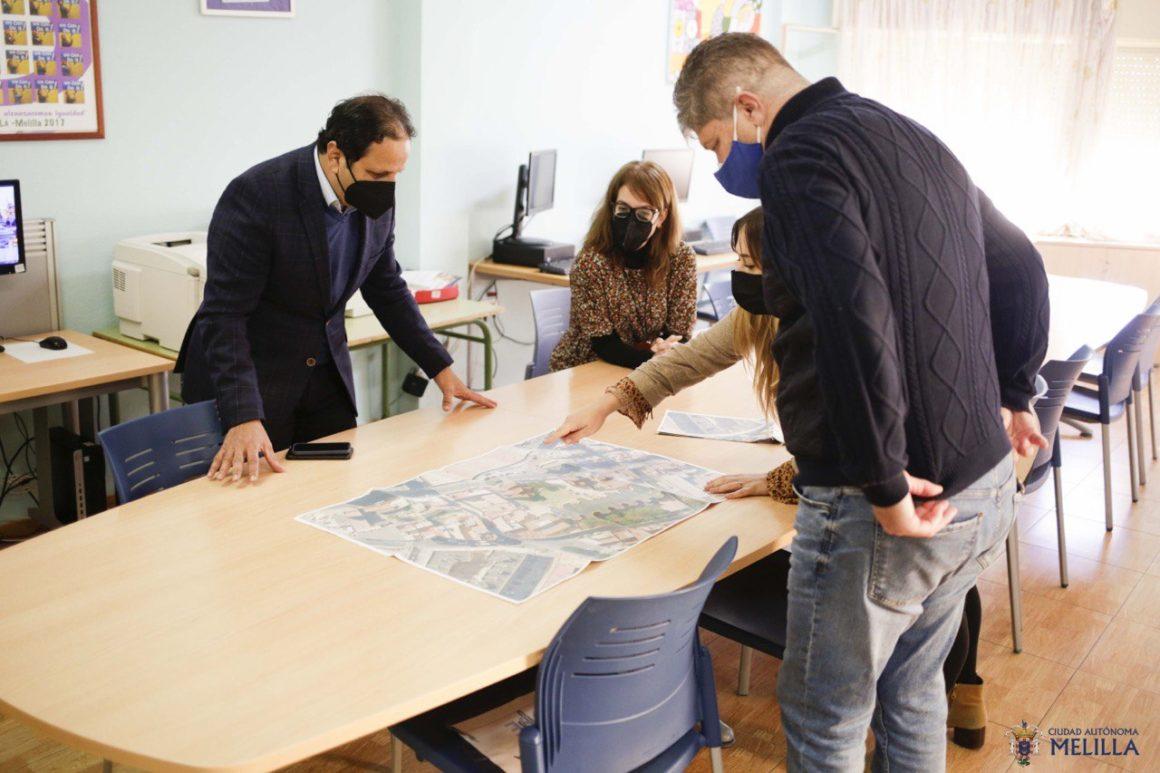 La Consejería mejorará la movilidad y la accesibilidad en el entorno del CEIP León Solá