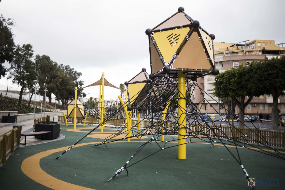 Medio Ambiente inaugura el nuevo parque de Altos de la Vía