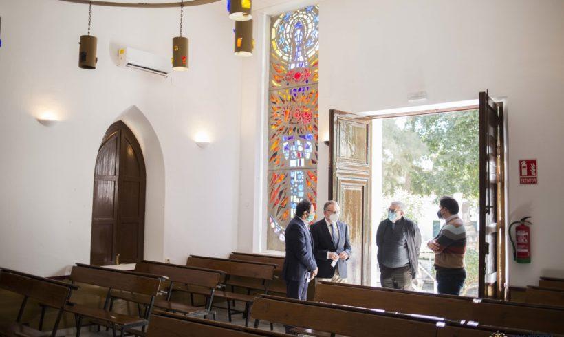 Finalizan las obras de conservación en la capilla del cementerio cristiano de la Purísima Concepción