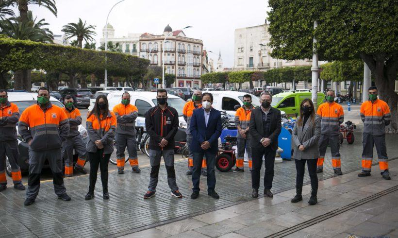 Más personal y más vehículos sostenibles en el nuevo servicio de desratización, desinsectación y desinfección