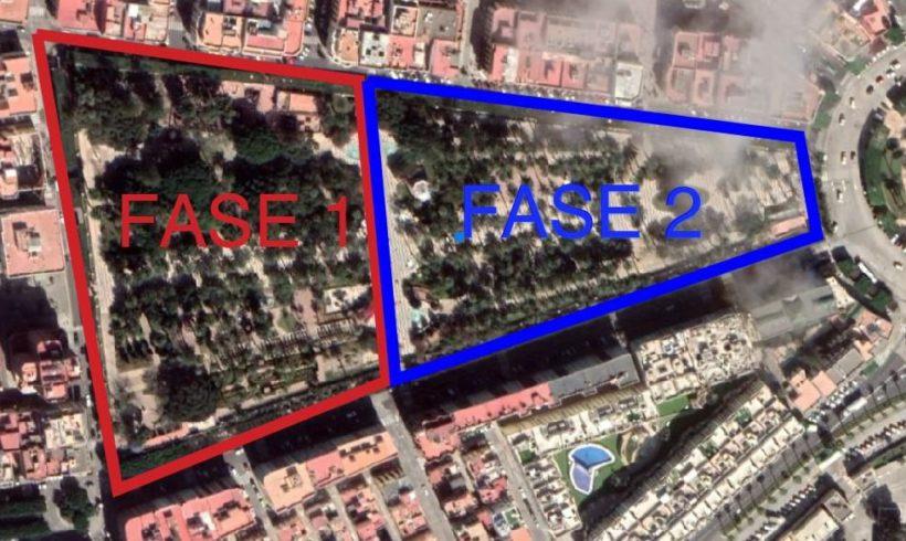 El Parque Hernández se cerrará los días 10 y 11, en horario de mañana, por una grabación con dron