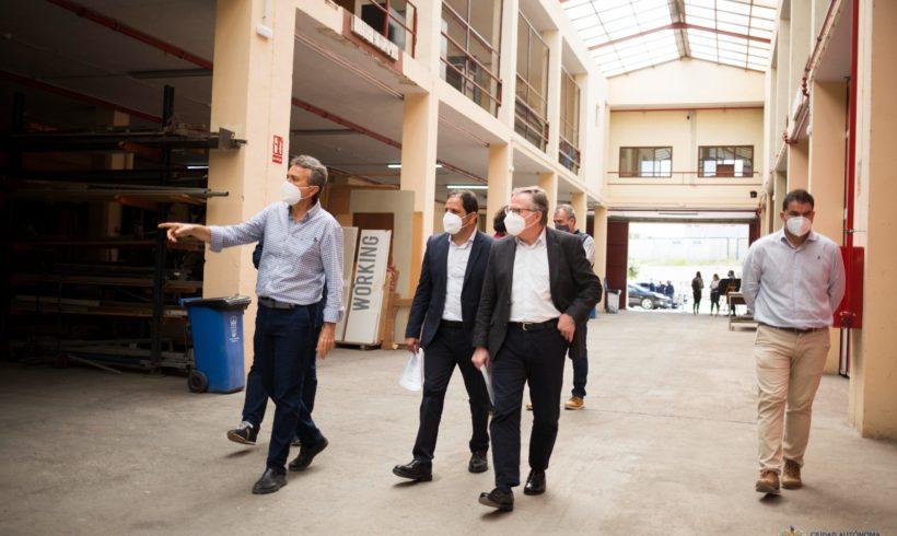 La Consejería de Medio Ambiente y Sostenibilidad reforma las instalaciones de los almacenes generales de la Ciudad Autónoma de Melilla