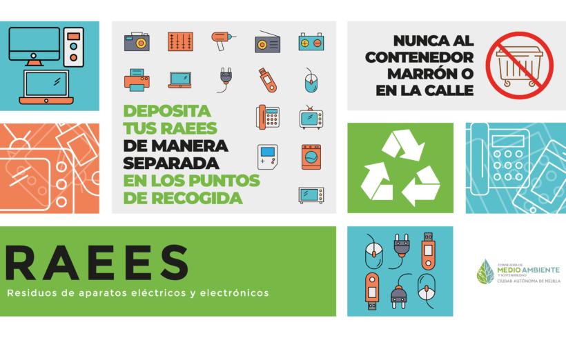 La Consejería de Medio Ambiente desarrolla una campaña de concienciación sobre la gestión de RAEES