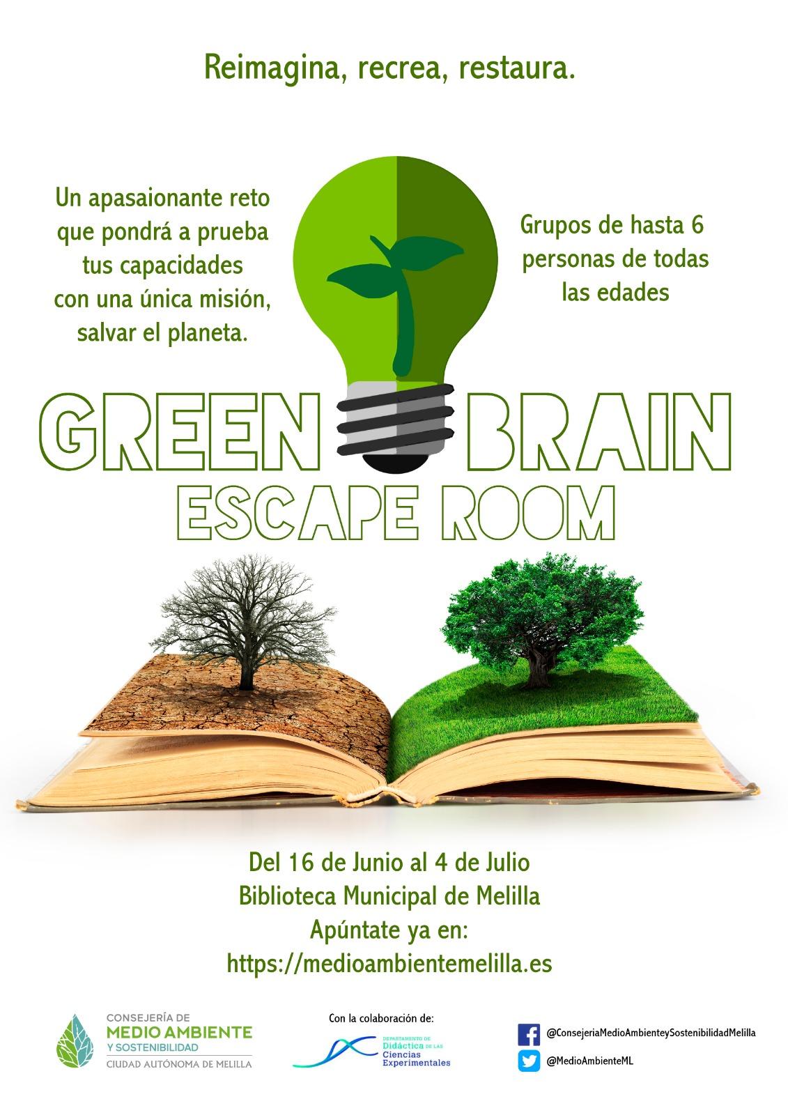 La Consejería de Medio Ambiente y Sostenibilidad crea un Escape Room ambiental para celebrar el Día Mundial del Medio Ambiente