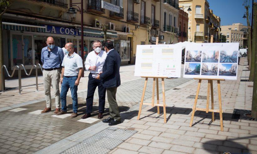 La Consejería de Medio Ambiente y Sostenibilidad pone en servicio la nueva ordenación de la Calle O´Donell, General Prim y Conde Serrallo