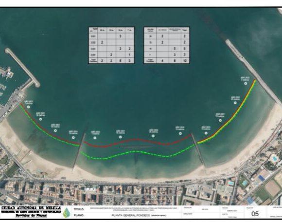 La Consejería de Medio Ambiente y Sostenibilidad instalará fondeos ecológicos en el litoral sur